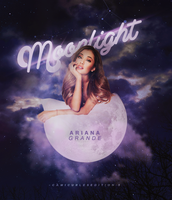 +EDICION: Moonlight | Ariana G by CAMI-CURLES-EDITIONS