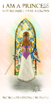 Princess Zelda: Protector of her People by They-Are-Not-Stars