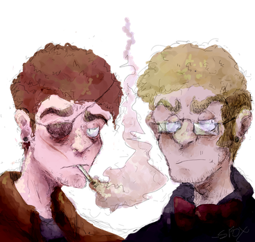 my dudes by IronicPhonic