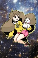 Bee and Puppycat by Ark-san