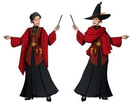 McGonagall's Robes? by kit466