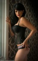 Black Corset by starlingphoto