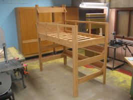Completed Loft Bed by ninjakitty94
