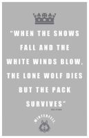 Eddard Stark Quote by LiquidSoulDesign