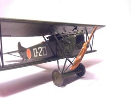 Dutch Fokker D.VII MLD 008 by BlokkStox