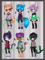 Adoptables Batch[CLOSED] by Consumed-By-Insanity