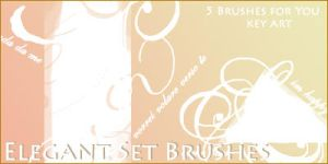 Elegant Brushes by KeyMoon