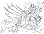 The Fire Dragonne by comixjammer