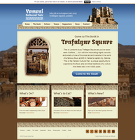 Yemeni Cultural Fair web site by OsamaPro