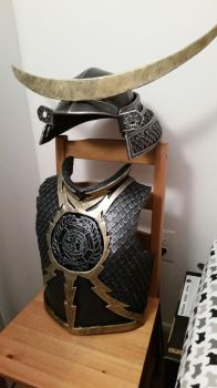 Masamune Armor Progress 2 by AthelCosplay