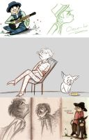 Once-ler - Sketches 2 by Mitch-el