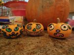 Baby Pumpkins Colored by Rosewolf86