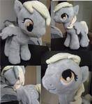 Derpy Hooves Plush by Ravirr94