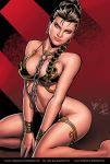Slave Leia by Caio and Jake by Kristherion