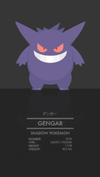 Gengar by WEAPONIX