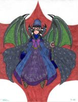 Dragon Sorceress Diffy by diffy