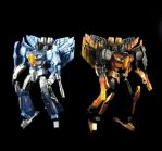 Ion Storm and Nova Storm customs together by BDixonarts