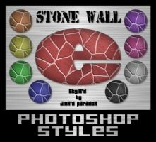 Photoshop Styles - Stone Walls by JINXD-PARADOX