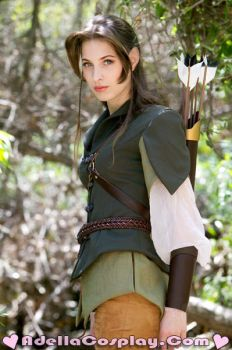 Elistriell Watersong - Costume by Adella