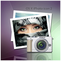 OS X iPhoto icon 2 by D1m22