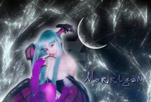 Morrigan Wallpaper by Lady-Vudu-doll