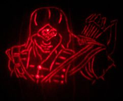 Connor Kenway Pumpkin 2012 by mediaklepto