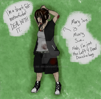 Left 4 Dead FC: Mary Sue is Mary Sue. by Rie--Rie
