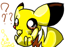 Pikachu has a question by Chaomaster1