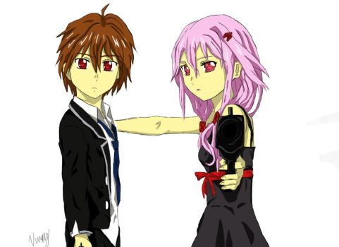 Guilty Crown - Shu and Inori by BlueCrew