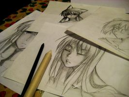 Pencil things by Ryucchan