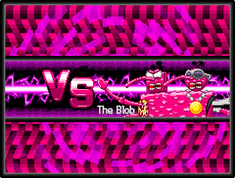 Blob Week - Blob Vs. Screen Redo by Nk-Cyborg