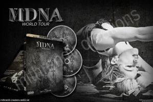 MDNA Tour Deluxe Silver Edition Design by Mithrandir29
