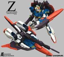 Zeta Gundam: Variable Form by sandrum