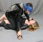 Leather and Spikes Couple 13 by MajesticStock