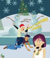 6teen Christmas at the Mall - 2011 by AndrewArtist