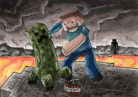 No.40 Creeper by Lighiting-Dragon