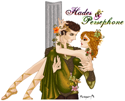 .: Hades and Persephone :. by o0VioletInk0o