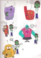 My RnM Interactions by Lizlovestoons12