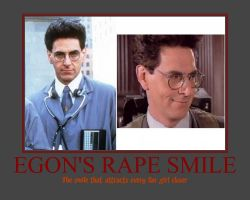 Egon's Rape Smile by RyoLovesMe