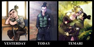Shikamaru: Yesterday, Today, Temari by AdamWithers