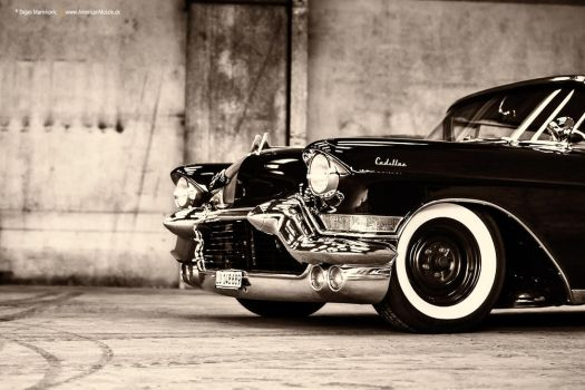 lowered 1957 Cadillac Series 62 - Shot 1 by AmericanMuscle
