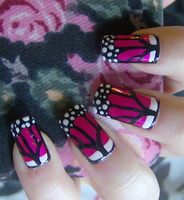 Pink Butterfly-ish by KayleighOC
