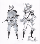 Kashmir Soldiers by ToxicToothpick