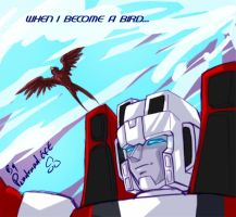 TF- Starscream - Become A Bird by plantman-exe