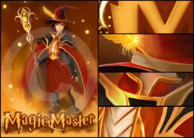 Magic Master - commission by michan