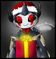X-Mas Gift: DogiCrimson by Neutral-Rou