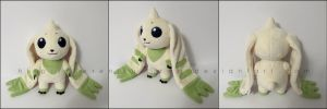 Plushie: Terriermon - Digimon by Serenity-Sama