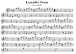 Lavender Town by toby4ever