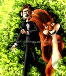 Over the hedge by DreamworksRP-Roddy