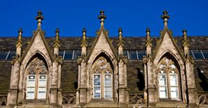 Gothic Windows TWO by DundeePhotographics
